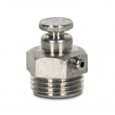 CHROME PLATED BRASS AIR RELIEF VALVE